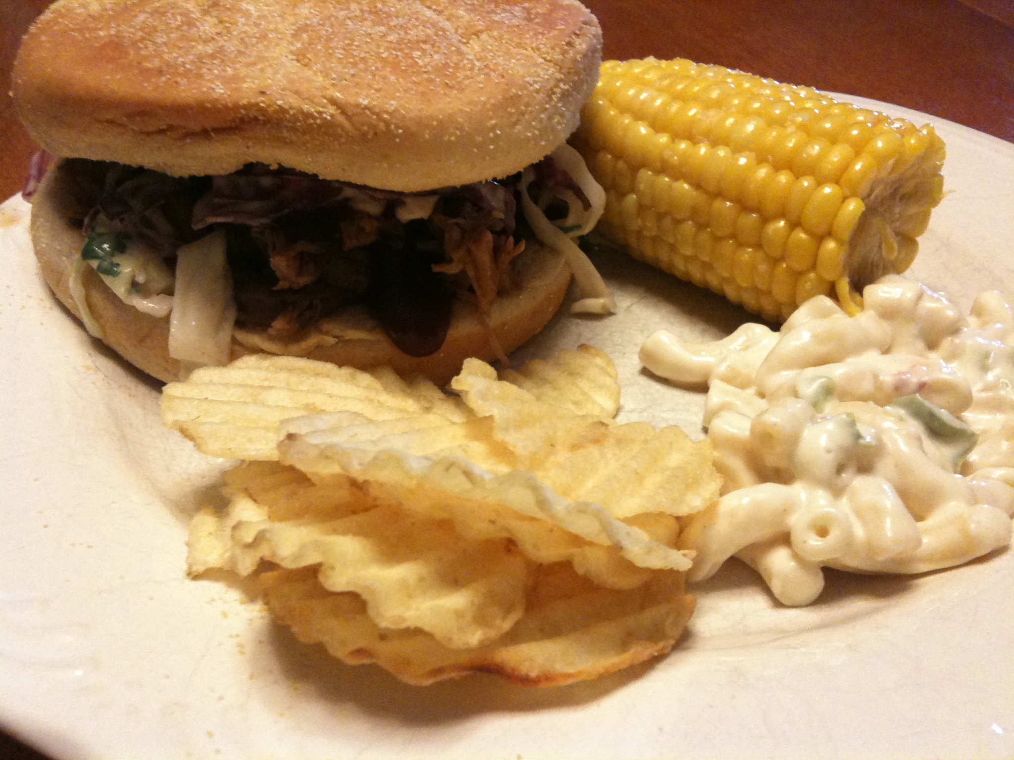 Chipotle Pork Sandwiches with Cilantro Jalapeño Slaw ...