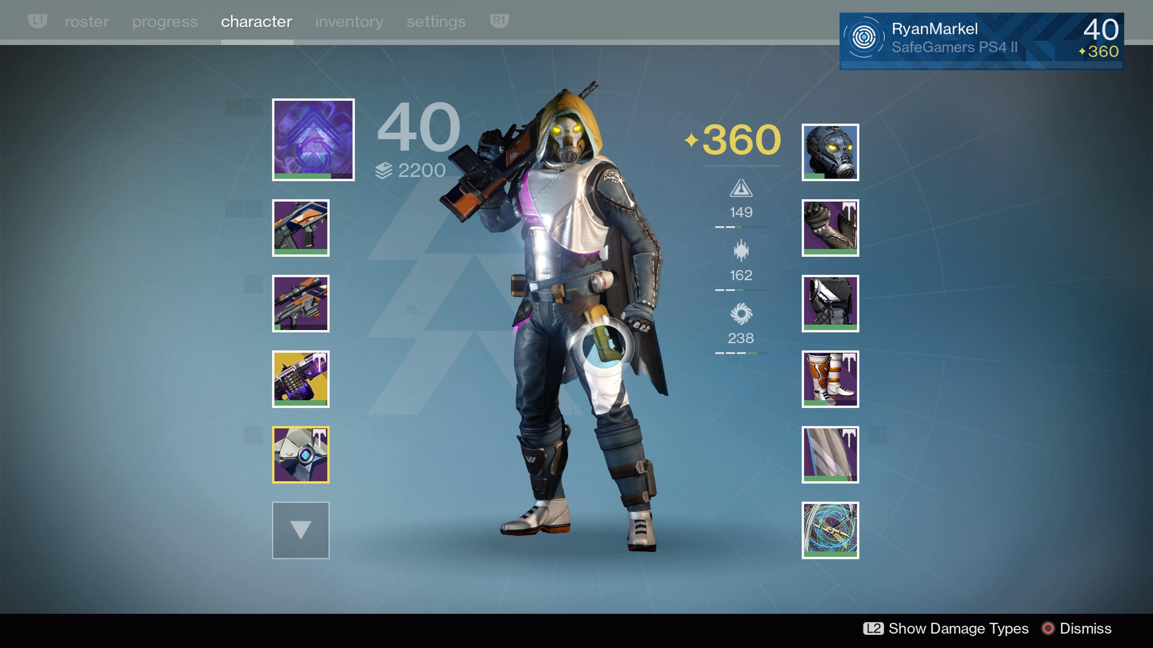 Understanding the Destiny 2 2 0 Weapon Slot System – Ryan Markel